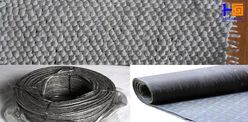 vật liệu amiang cách nhiệt