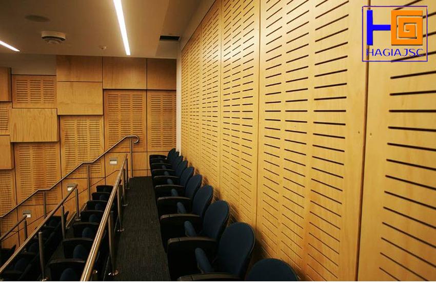Tổng hợp các loại gỗ tiêu âm được sử dụng phổ biến hiện nay